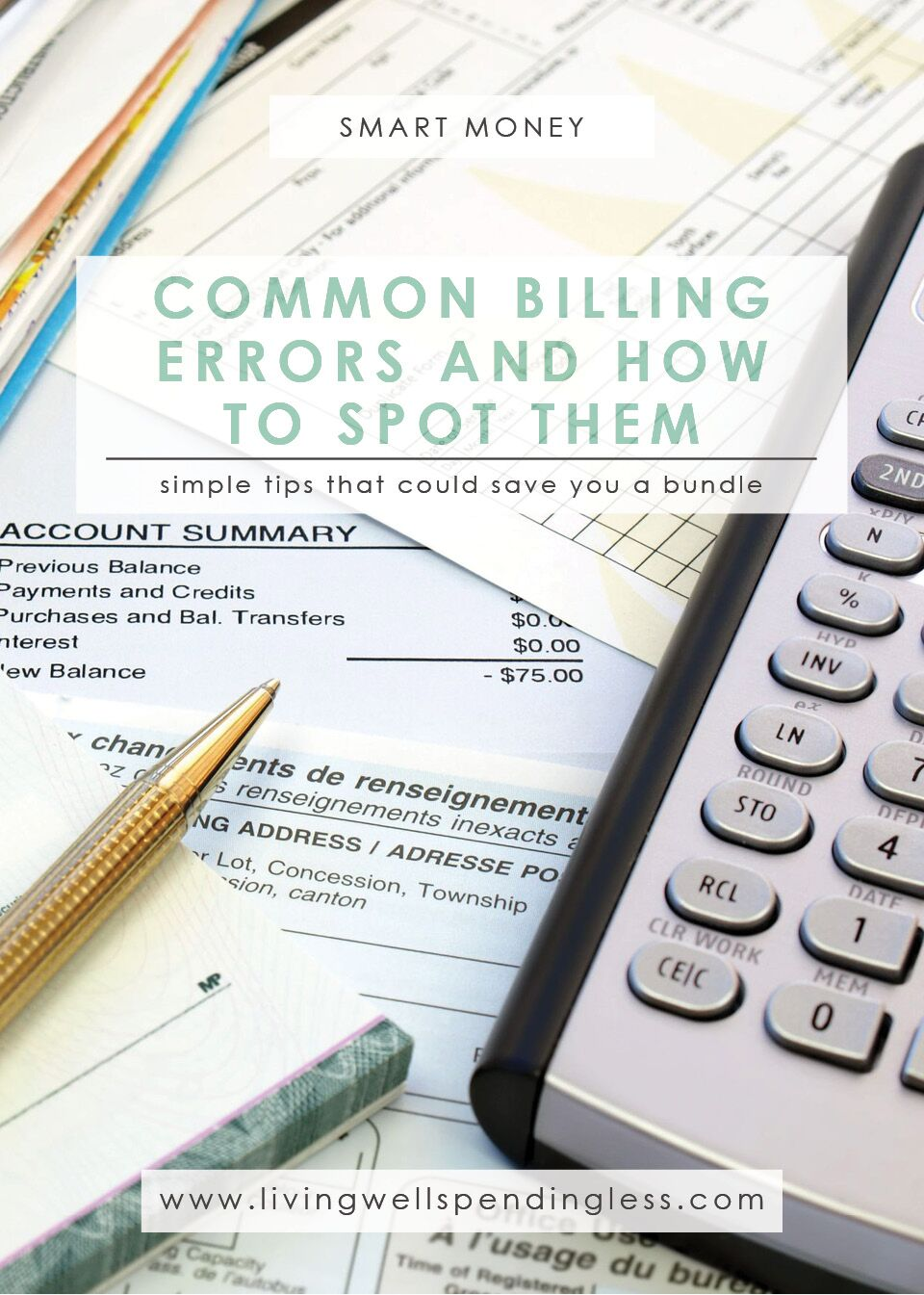 Common Billing Errors & How to Spot Them | Money Saving Tips | Smart Money | Identify and Dispute Errors