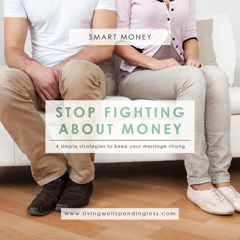 Stop Fighting About Money | Budgeting 101 | Debt Free Living | Money Saving Tips