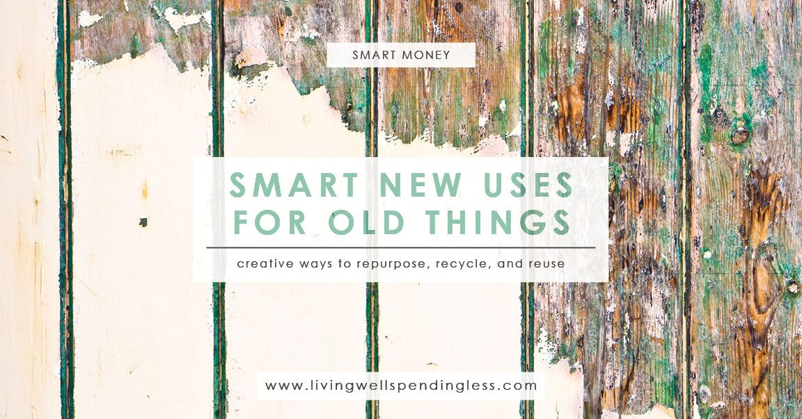Smart new uses for old things upcycling ideas - New uses for old things ...