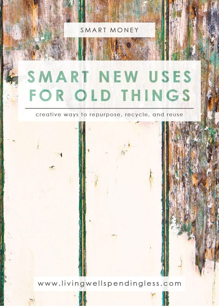 New Uses for Old Things | Recycle Old Things | Upcycle Old Materials | Decluttering Your Home | Life Management | Saving Tips | Saving Ideas| Home Decorating | Crafts | Home Improvement Ideas | Home Improvement Hacks | Upcycling Ideas