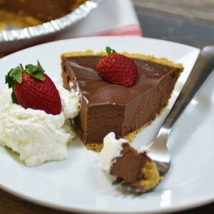 Simple Chocolate Tart | 5 Ingredients or Less | Dessert | Yummy Easy Chocolate Tart Recipe