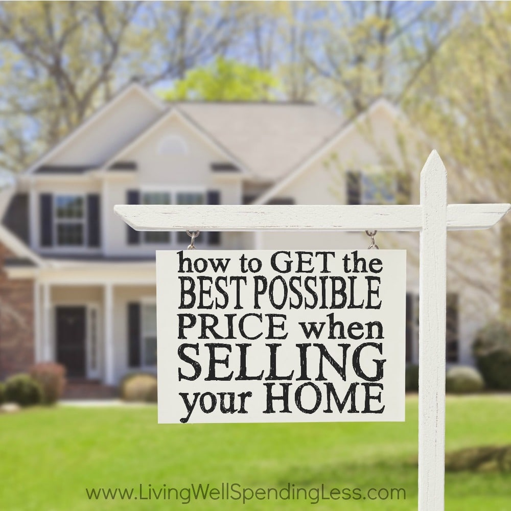 Best Price When Selling Home