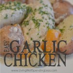Although it might sound intense, this tender garlic chicken actually has a very mild flavor that even the pickiest kids can handle. Better yet, it goes straight from the freezer to the crockpot to make cooking a breeze. Throw in a few carrots and potatoes to make it an effortless one pot meal the whole family will love!