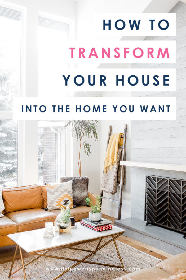 The home you've been dreaming in might be closer than you think. In fact, you might already be living there! These four simple but powerful questions can help you transform your house into the home you want. #home #decor #DIY #homedecor #decorating