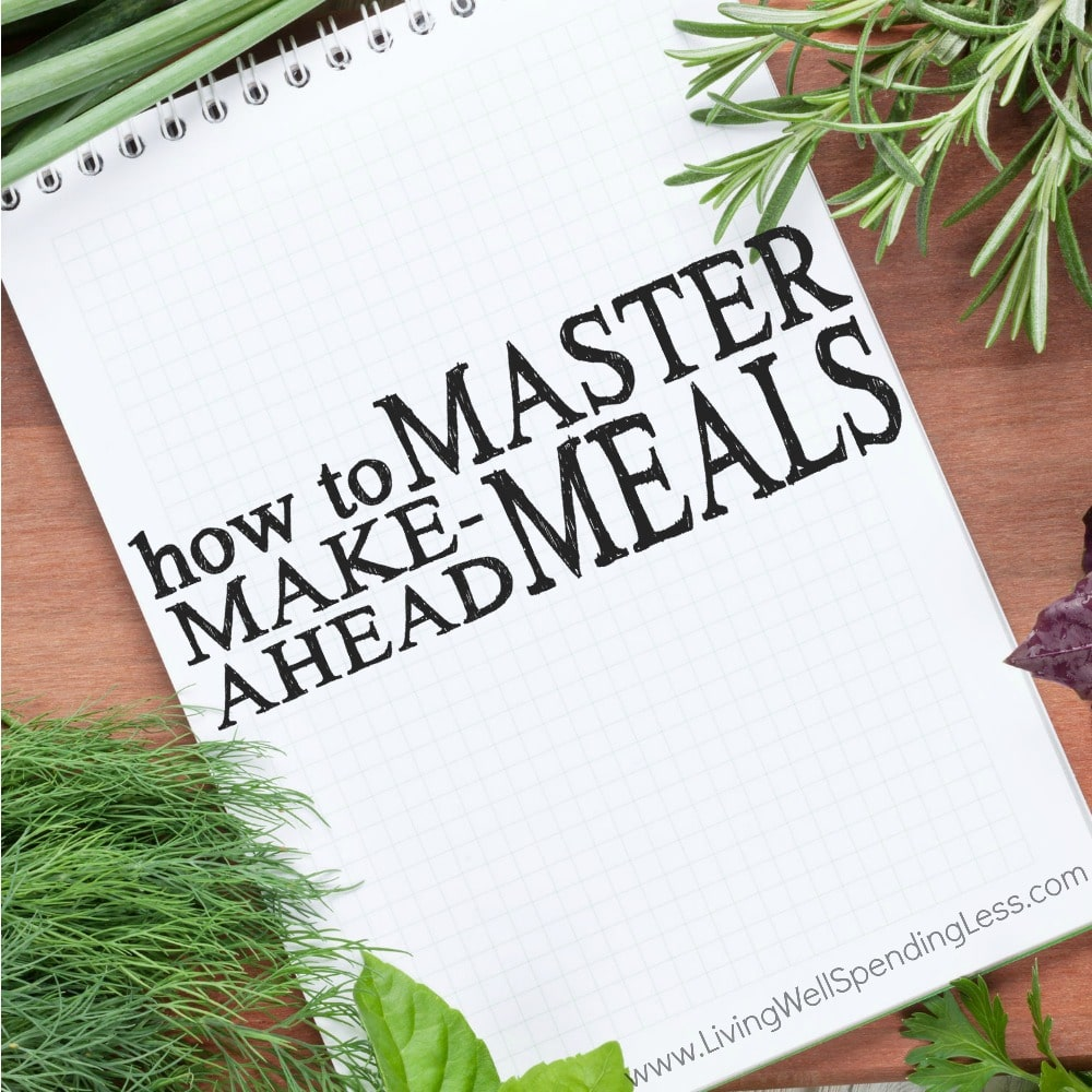 Master Make-Ahead Meals | 10 Meals in an Hour | Food Made Simple | Freezer Cooking | stockpile meals | Meal Planning