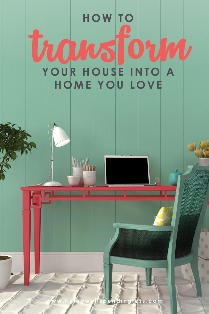 Is your house the home you want? While we often decorate based on how we think we should use our home, being realistic about how we actually use our space is the first step in turning a house into a home. If you've been struggling to declutter & get organized, these four simple but powerful questions can make all the difference!