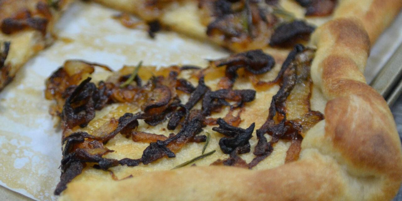 Caramelized Onion Flatbread