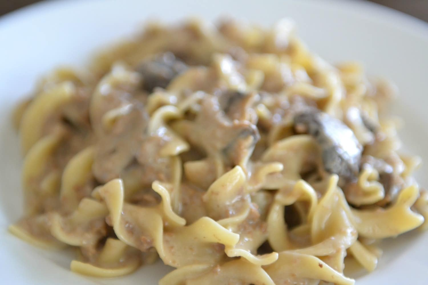 Main Course Crock Pot Stroganoff