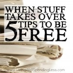 Is your STUFF taking over your life? From the clutter in our closets to the paperwork piling in the corner, it can sometimes feel like we are trapped in a vicious cycle of chaos. If you've been longing to take your life back from the stuff weighing you down, don't miss these 5 simple tips to help you break free!