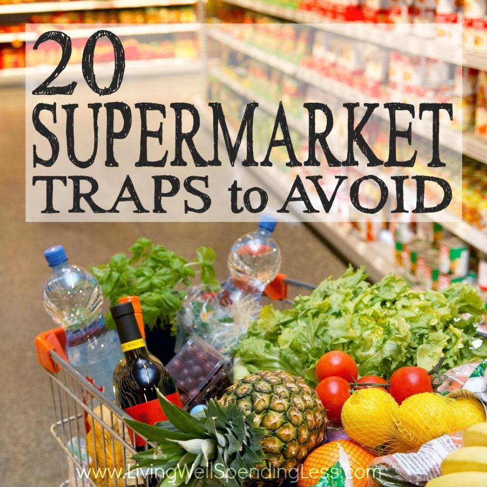 Supermarket Traps Square