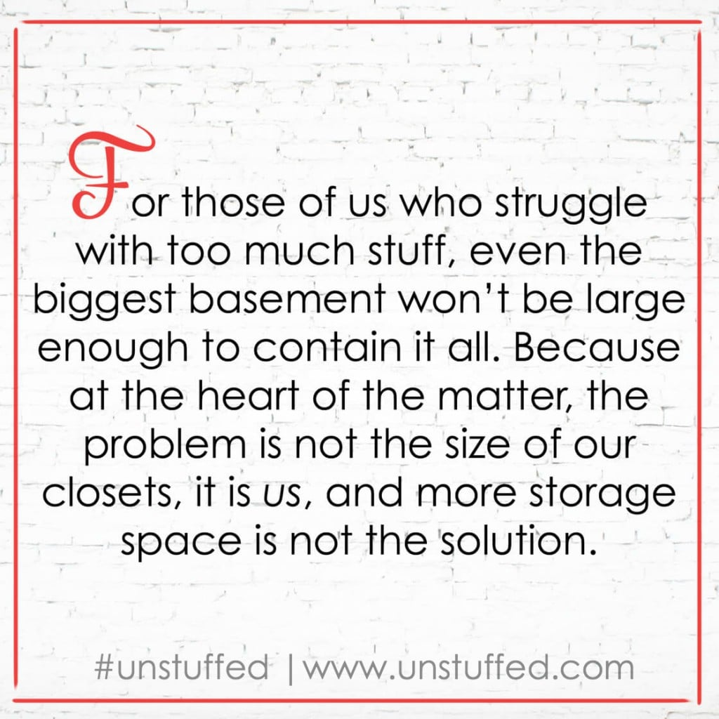 The truth about Unstuffed