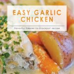 Easy Garlic Chicken | 10 Meals in an Hour | Food Made Simple | Freezer Cooking | Main Course Meat | Chicken Recipes