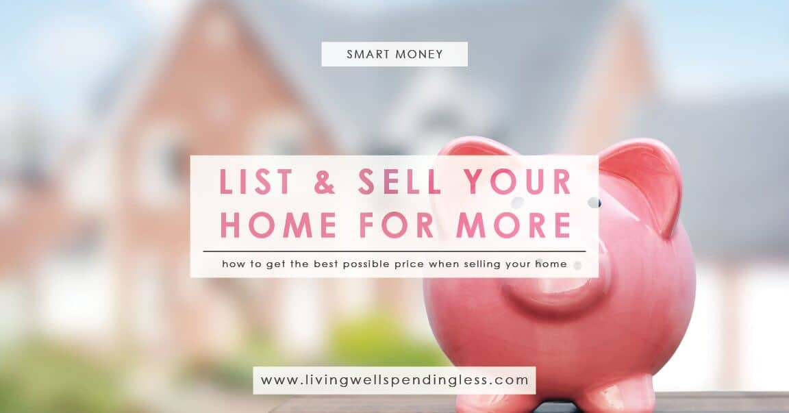 how to get the best price for a property