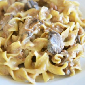 Slow Cooker Stroganoff | 10 Meals in an Hour | Food Made Simple | Freezer Cooking | Main Course Meat | Crock Pot Stroganoff