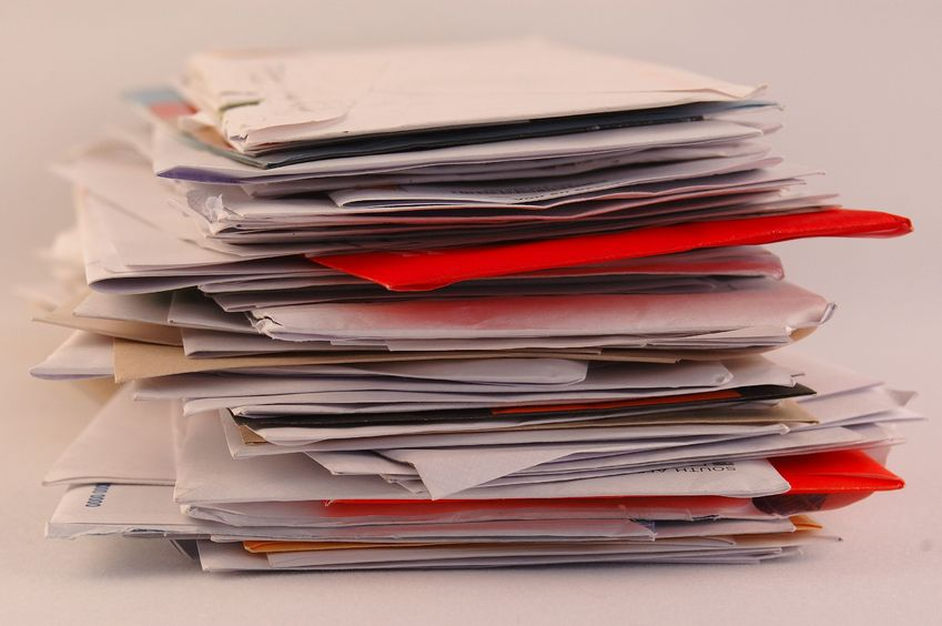 Decluttering Your Home by organizing your paper clutter.