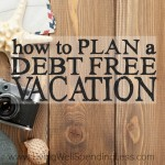 Debt Free Vacation Square