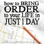 Order to Your Life  Square