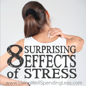 Feeling stressed? While life will always have it's share of stressful situations, the secret to finding balance is knowing how to recognize how much is too much, and when to take a step back. Don't miss these 8 surprising effects of stress--they might just be telling you something needs to give!