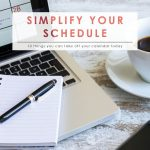 Things You Can Take OFF Your Calendar | Time Management | Daily Planning Tips | Appointment Setting