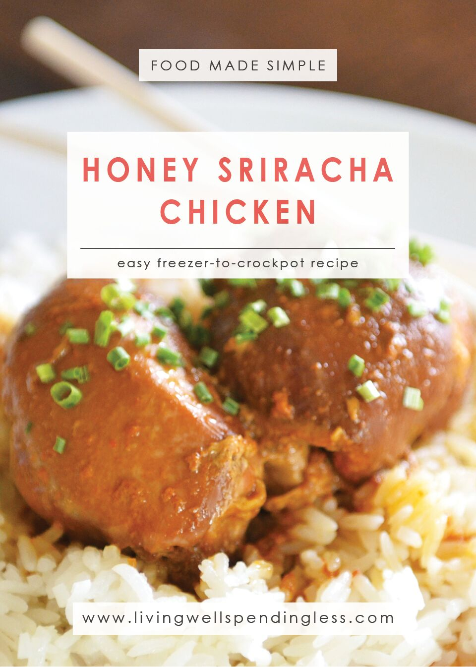 Honey Sriracha Chicken | 10 Meals in an Hour | Food Made Simple | Freezer Cooking | Main Course Meat | Chicken Recipes