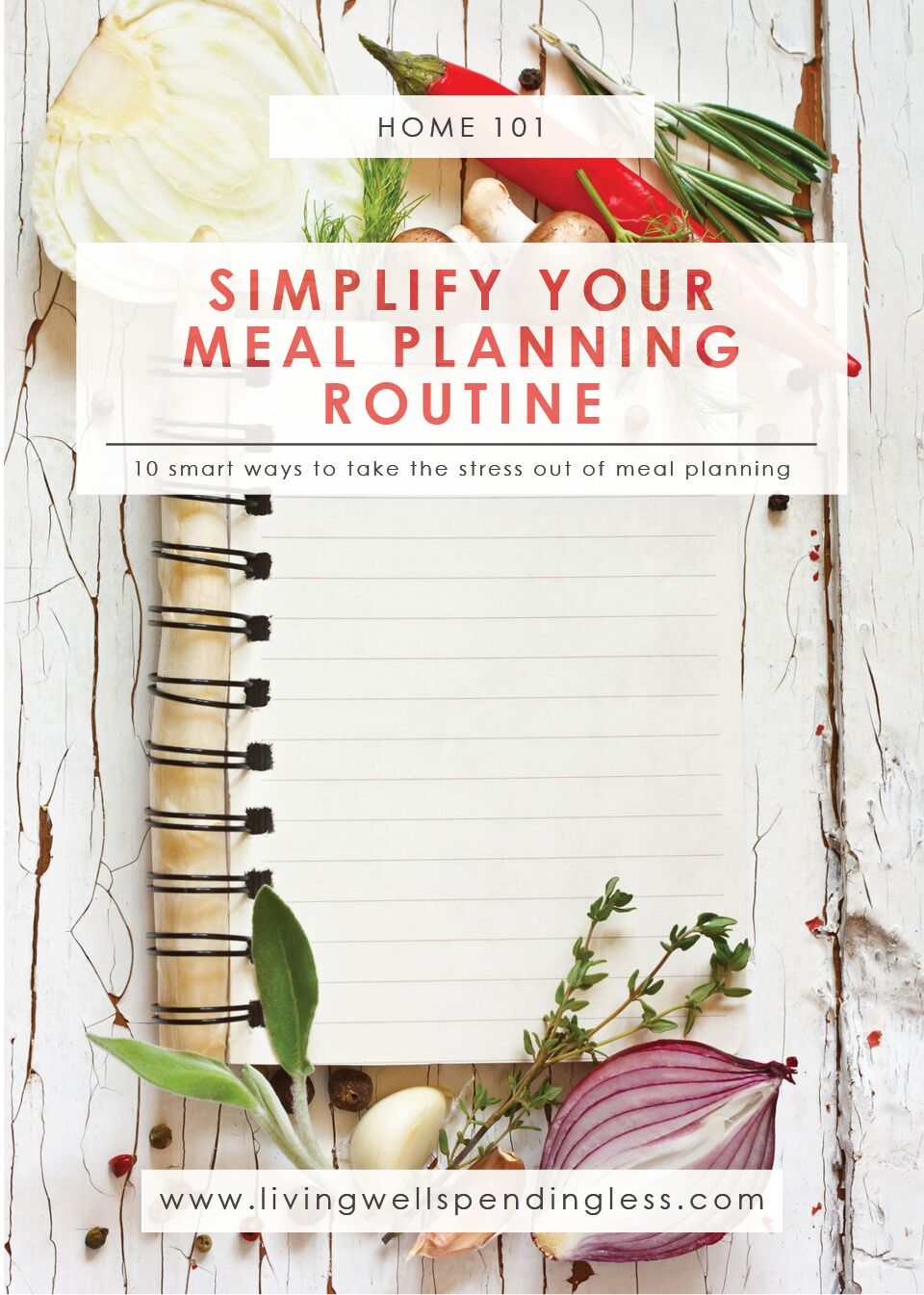 Simple Meal Planning Routine | Meal Planning Guide | Meal Planning Tips | Meal Plan | Menu Planning