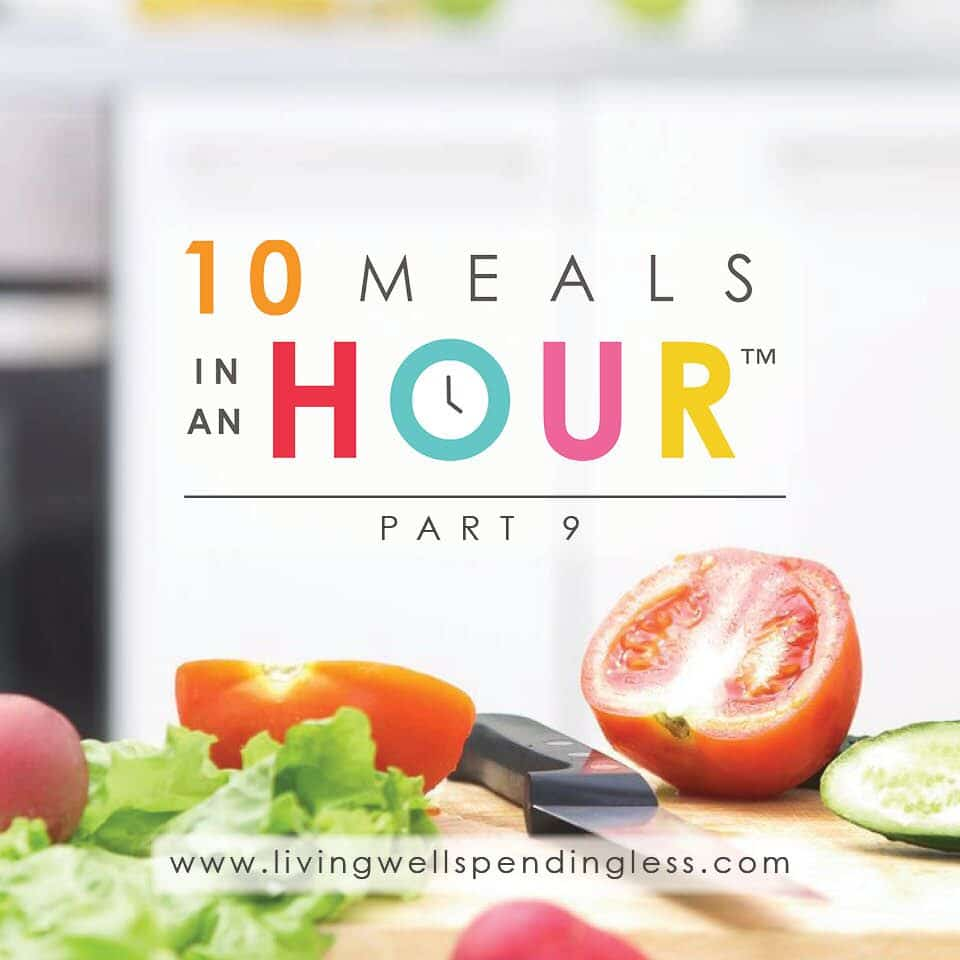 10 Meals in an Hour™ Part 9 | Easy Freezer Cooking Meal Plan | Food Made Simple | Freezer Cooking