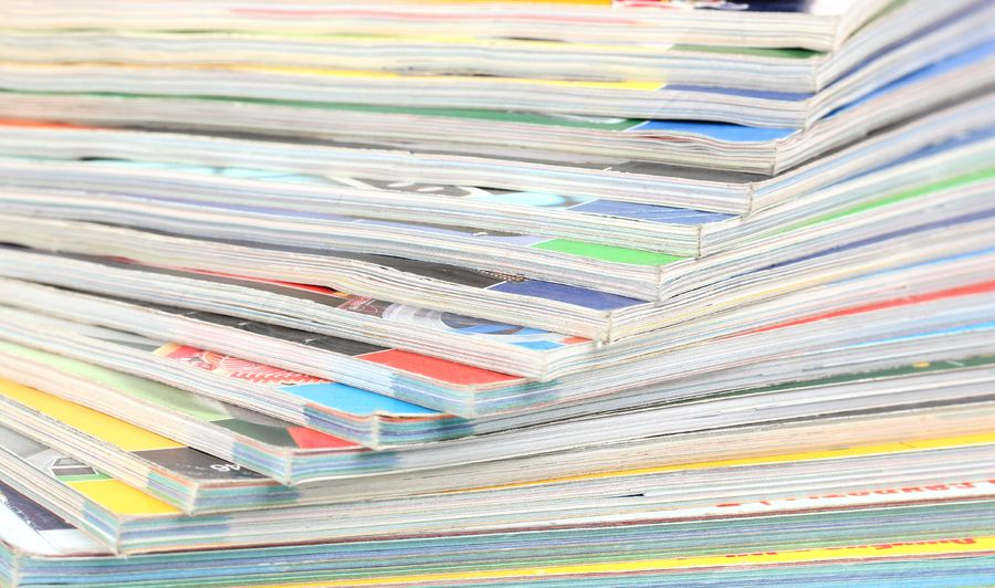 Control the amount of extra magazines in your home to minimize clutter.