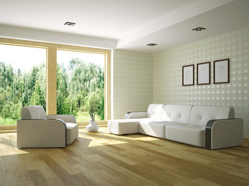 De-clutter the decor in your home to get a cleaner look.