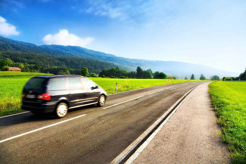 Road trips are a great way for families to take vacations and spend time.