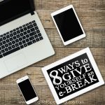 Technology can be a wonderful thing. The world is literally at our fingertips! But there is a dark side too, and it is important to know when enough is enough. If you are finding yourself increasingly unable to put down your phone or to turn off the tech, don't miss these 8 ways to give yourself an e-break....starting today!