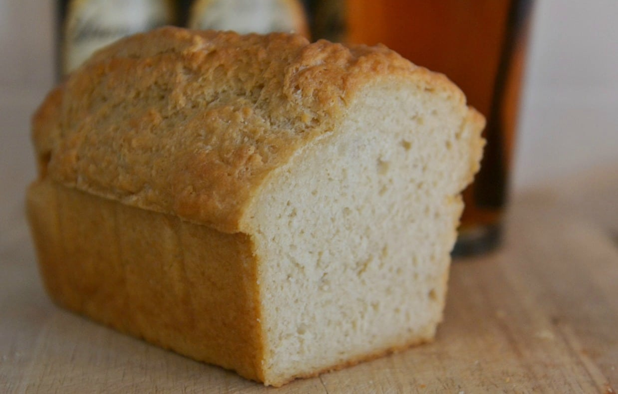 Baking easy recipes like homemade bread is a great way to live a happy life.