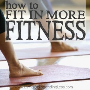 Convinced you don't have time for working out? You may simply need to reset your idea of what counts as exercise! Don't miss these simple tips for how to fit in more fitness every single day....completely painlessly! Take it from a girl who hates to exercise--this is one post you can't afford to miss!
