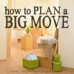 How to Plan a Big Move Square