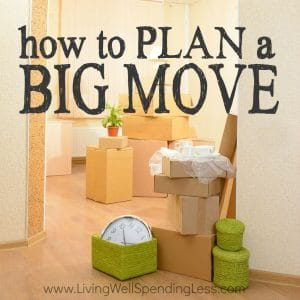 Moving is never fun, but a little planning can make the task a whole lot smoother! Whether you are moving across town or across the country (or even just thinking about it), don't miss these practical tips for how to plan a big move!