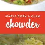 Need a go-to soup you can enjoy year round? This flavor-packed Corn & Clam Chowder comes together in minutes then goes straight from the freezer to crockpot for a simple but hearty meal that is ready when you are. My family gave this one a 10--I'm pretty sure yours will too!