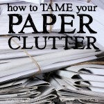 Feeling overwhelmed by that stack of papers piling on the counter, or the dozens of unread emails you still need to respond to? There's nothing more stressful than information clutter and the obligation it creates, but thankfully there IS a solution! If you've ever felt like you are drowning, you won't want to miss this practical, easy-to-implement plan for how to tame your paper clutter!