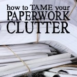 Paperwork Clutter Square