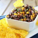 Corn & Black Bean Salsa | Food Made Simple | Snacks & Starters | Black Bean And Corn Salsa Recipe