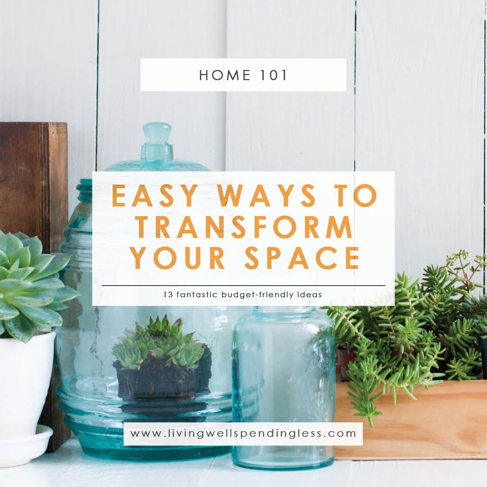 Ways to Transform Your Space | Home Decluttering | Quick Wins for Your Home | Cleaning & Organizing