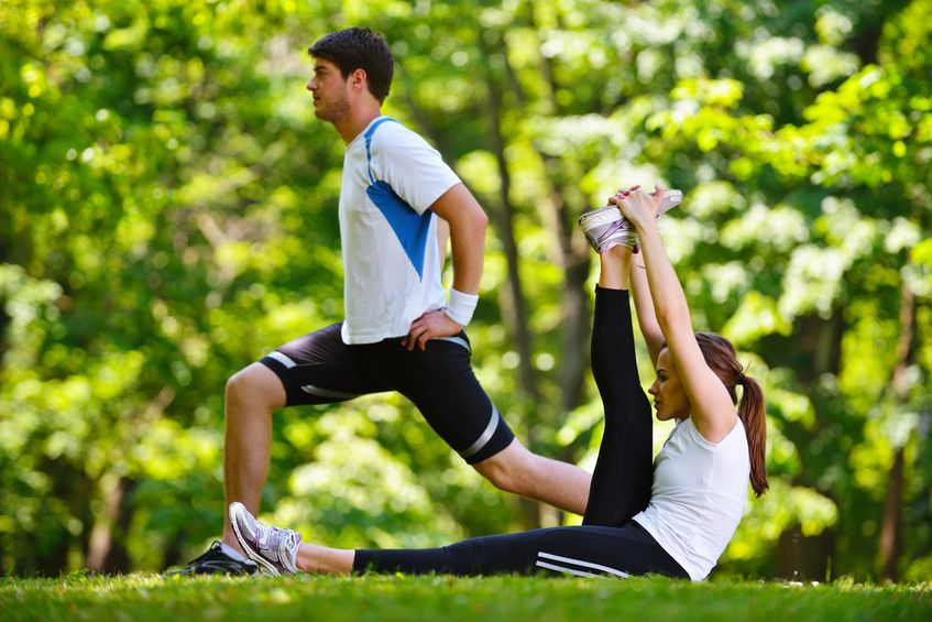 Working out with a friend is a fun way to change up your fitness routine.
