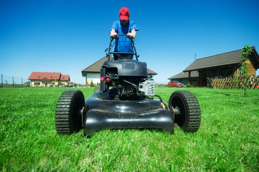 Hiring someone to help mow your lawn will save you time and stress.