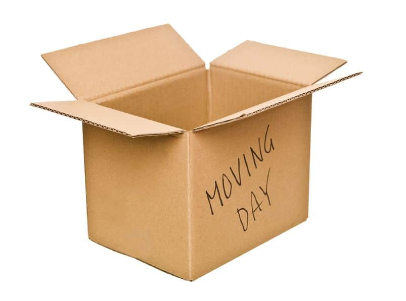 Clearly labeled boxes are your best friend! On moving day,. be prepared with a sharpie and clear directions on where things go.