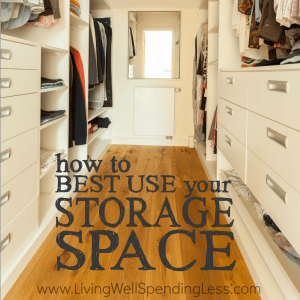 Ever feel like your home is seriously short on space, or like you simply can't get organized? Believe it or not, your storage problems might be easier to solve than you realize! Don't miss these smart ideas for how to best use your storage space and finally get organized, once and for all!
