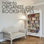 Organize Your Bookshelves Square