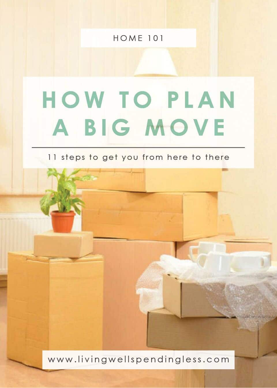 Plan a Big Move | Cleaning & Organizing | Money Saving Tips | Home Purging | Home Organization | Home Planning | Practical Moving Tips | Stressless House Move | Moving to a New Place | Relocating Guide | Moving Checklist