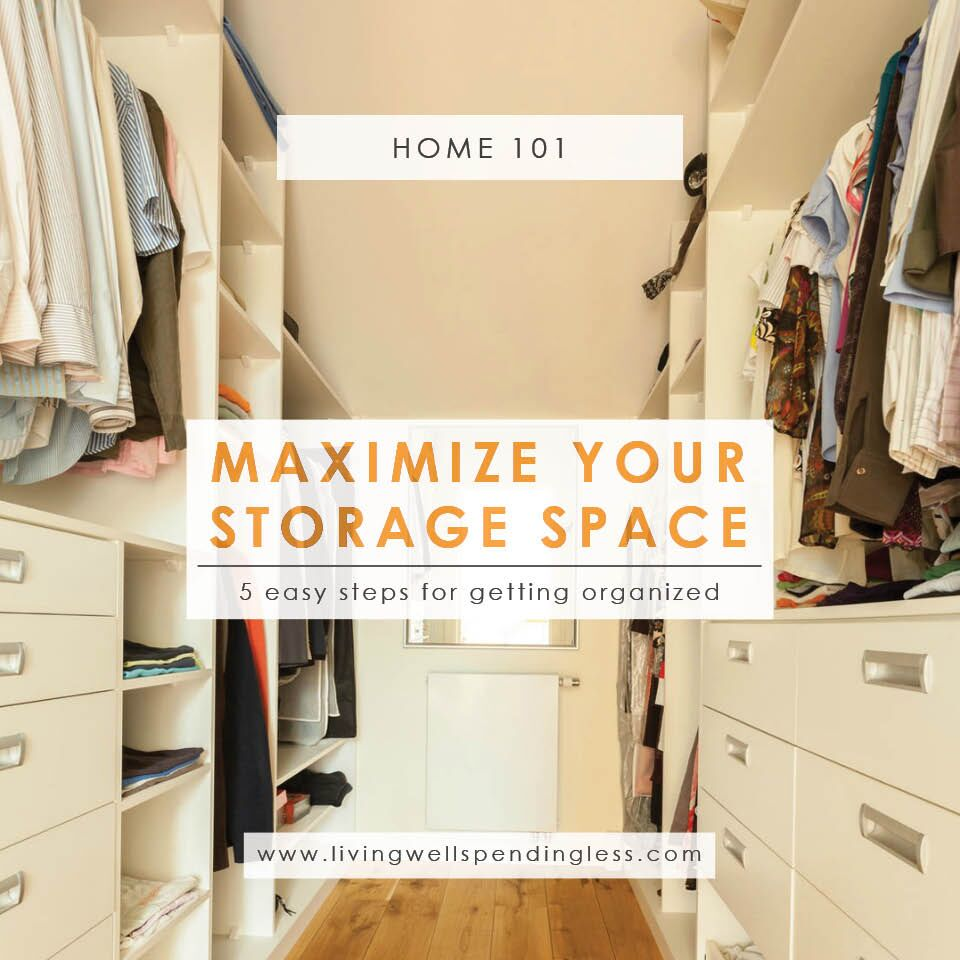 How to Best Use Your Storage Space | Home Decluttering | Cleaning & Organizing