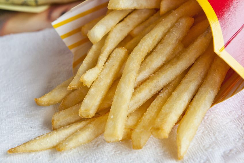 These yummy fast food French fries are a delicious treat, but if it's all your kids will eat, it may be time for a change.