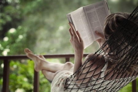 Living an abundant life is all about making the most of your time like reading a good book.