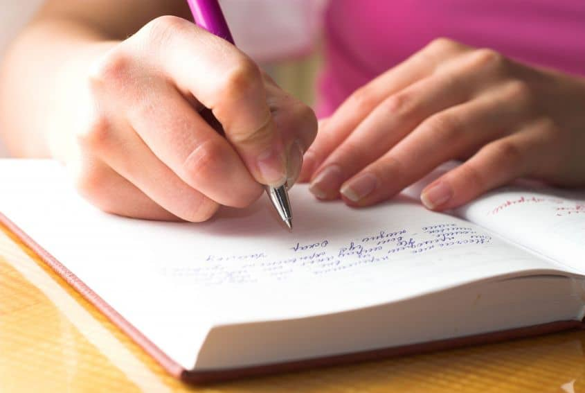 Writing down things you're grateful for is a great way to cultivate an abundance mindset.