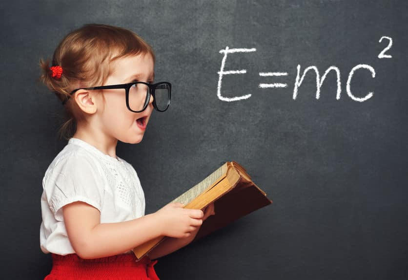 Encourage kids to learn more but don't expect them to be geniuses.